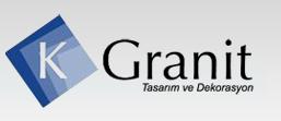 K-Granit. Tezgah tasarım ve dekorasyon, Ankara